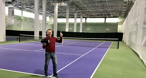 Russian Tennis Court