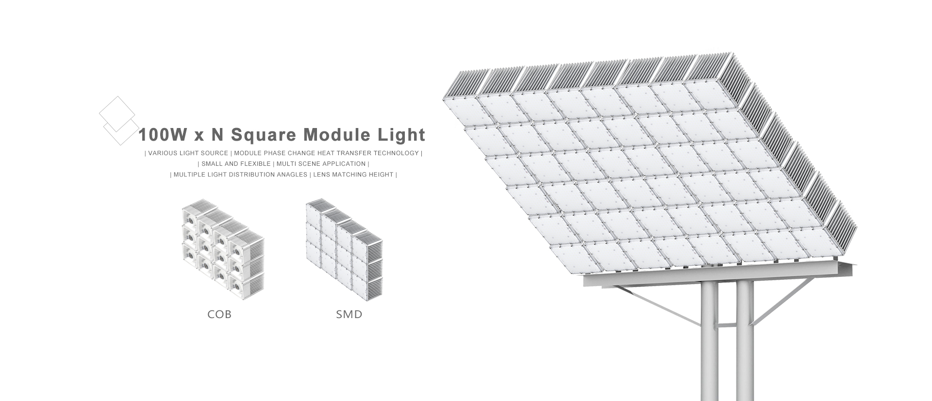 led Square Module Light